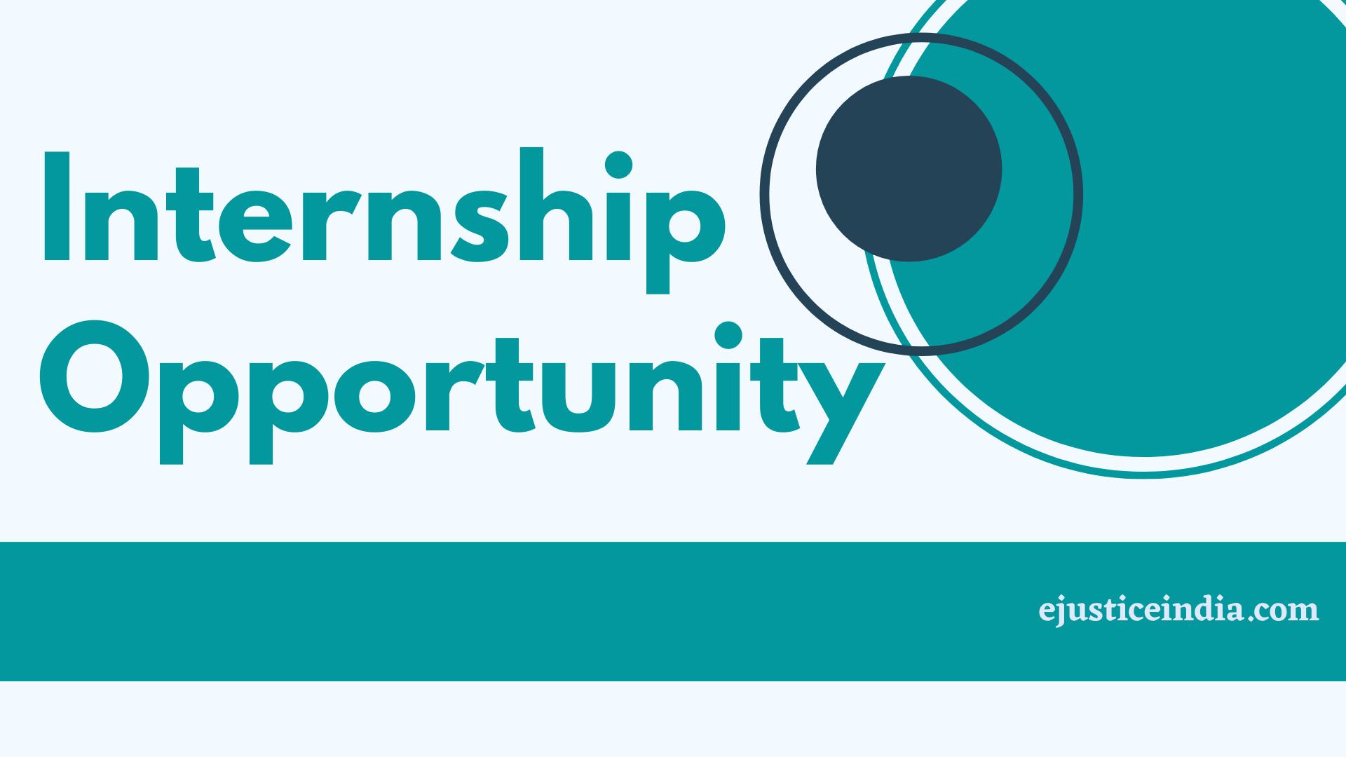 Internship Opportunity at Sakshar Law Associates