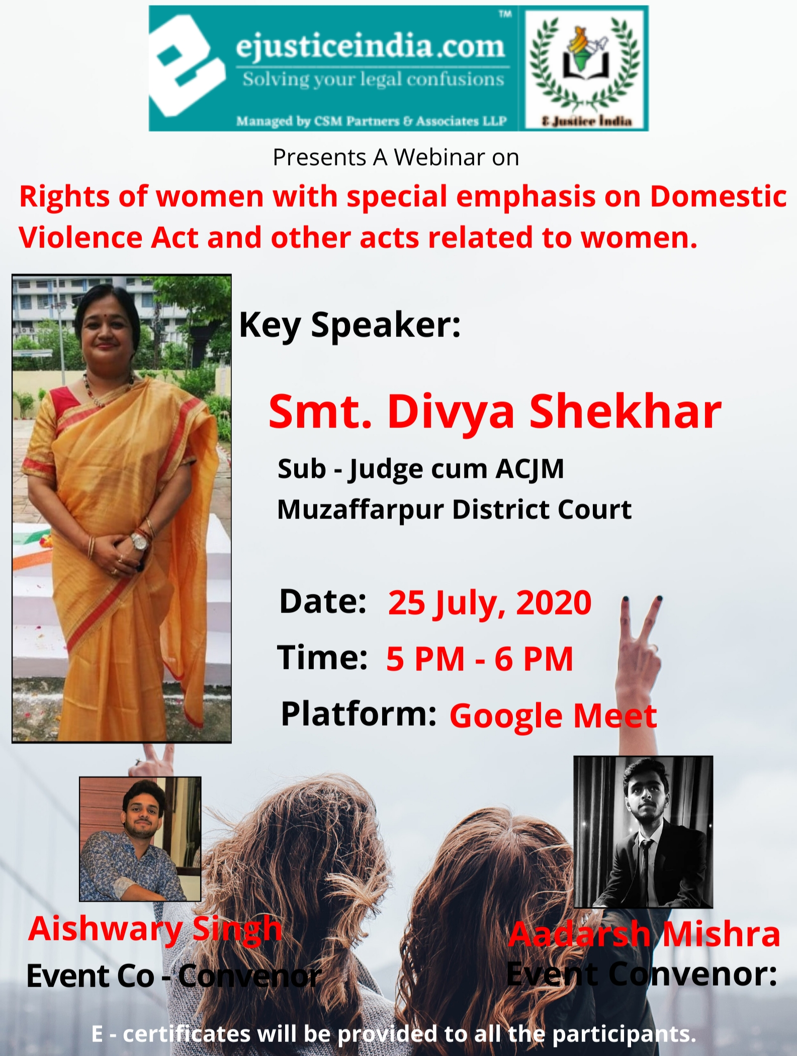 e-justice-india-is-organizing-a-webinar-on-rights-of-women