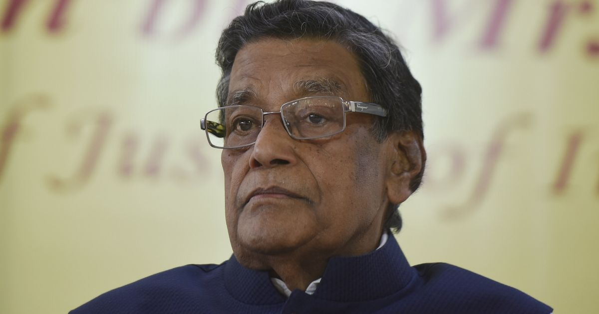 Attorney General KK Venugopal in isolation after colleague tests positive for COVID-19
