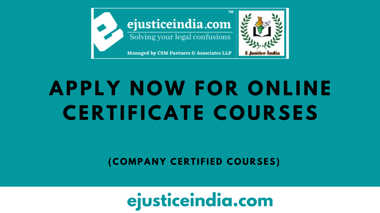 online certificate courses