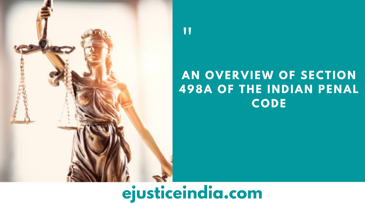 section 498A of the Indian Penal Code
