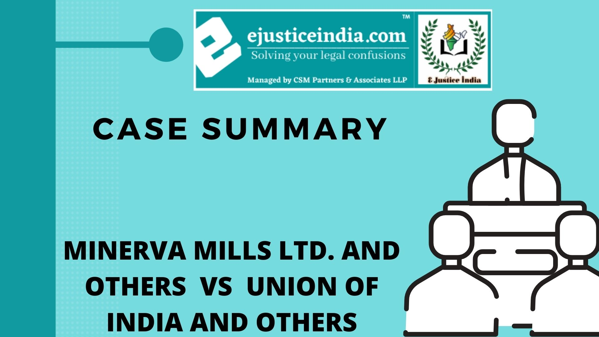 MINERVA MILLS LTD. AND OTHERS VS UNION OF INDIA AND OTHERS