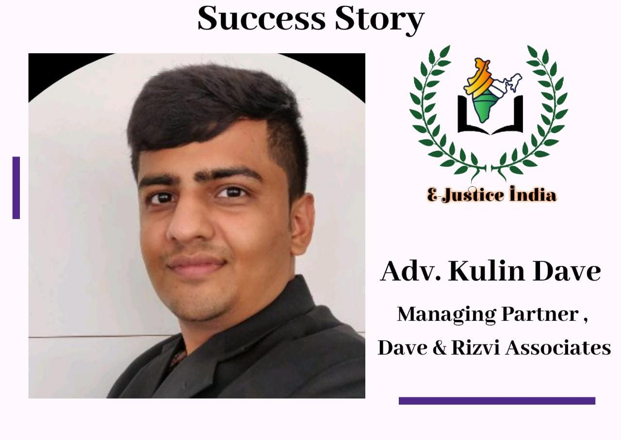 Wanted to become a Psychologist, Luck made a lawyer – Adv. Kulin Dave