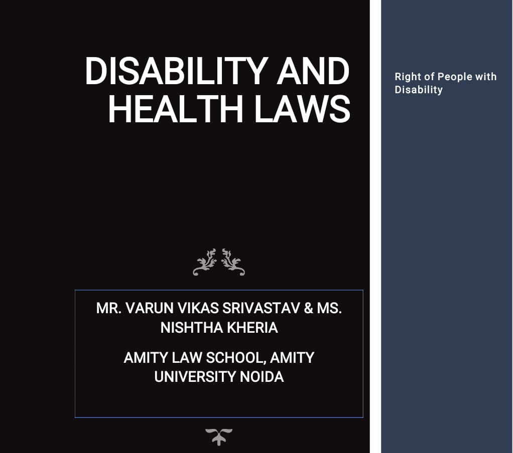 DISABILITY AND HEALTH LAWS