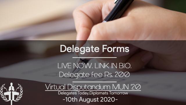 Virtual Disputandum is Organizing E-MUN on 10 August 2020