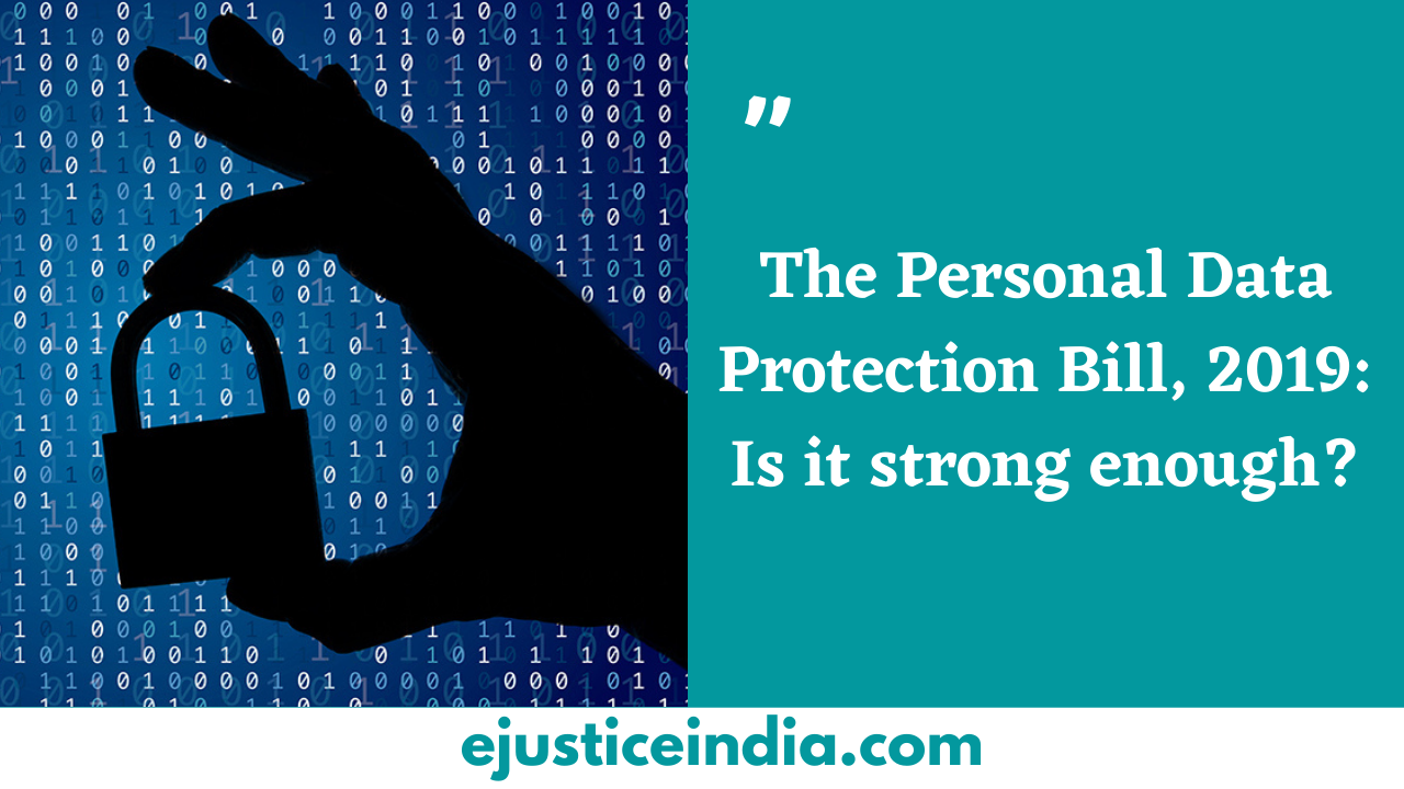 The Personal Data Protection Bill 2019