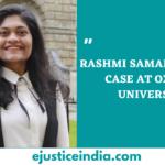 RASHMI SAMANT RACISM CASE AT OXFORD UNIVERSITY