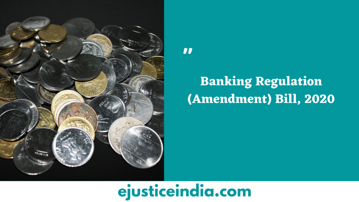 Banking Regulation (Amendment) Bill, 2020