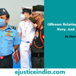 Offenses Relating To The Army, Navy, And Air Force